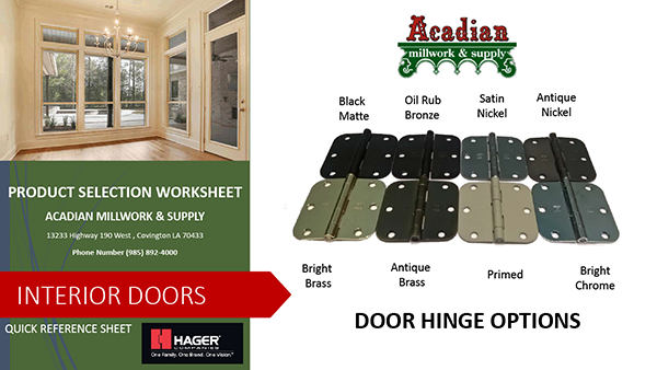 product-selection-worksheet-door-hinged-options