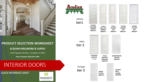 product-selection-worksheet-interior-doors